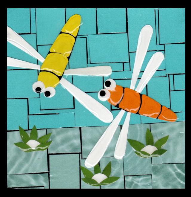 Free Range Art – Paper Mosaics